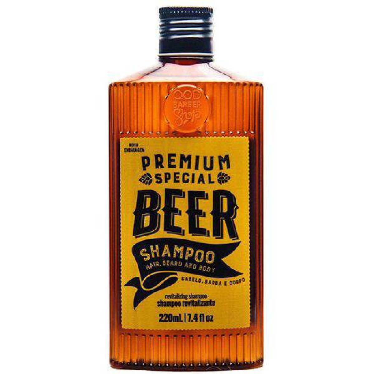 Shampoo QOD Premium Special Beer 220ml
