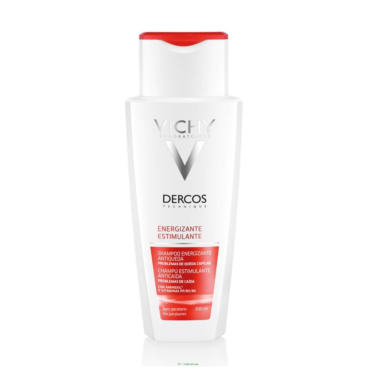 Shampoo Antiqueda Vichy Dercos Energizante com 200ml 200ml