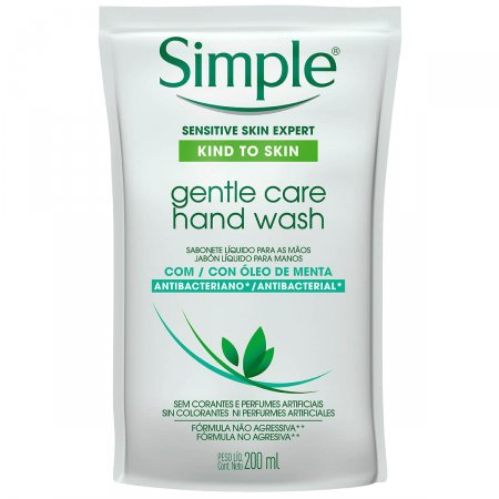 Sabonete Líquido Simple Antibacterial Refil