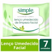 Lenços Umedecidos Facial Simple
