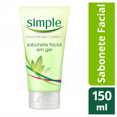 Sabonete Facial Simple em Gel