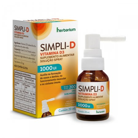 SIMPLI D 1000 UI SPRAY 20ML