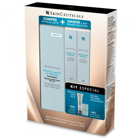 SKINCEUTICALS PHYSICAL MATTE 30ML + BLEMISH SOLUTION 4ML
