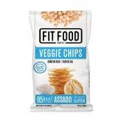 FIT FOOD VEGGIE CHIPS GRAO DE BICO FLOR DE SAL 40G
