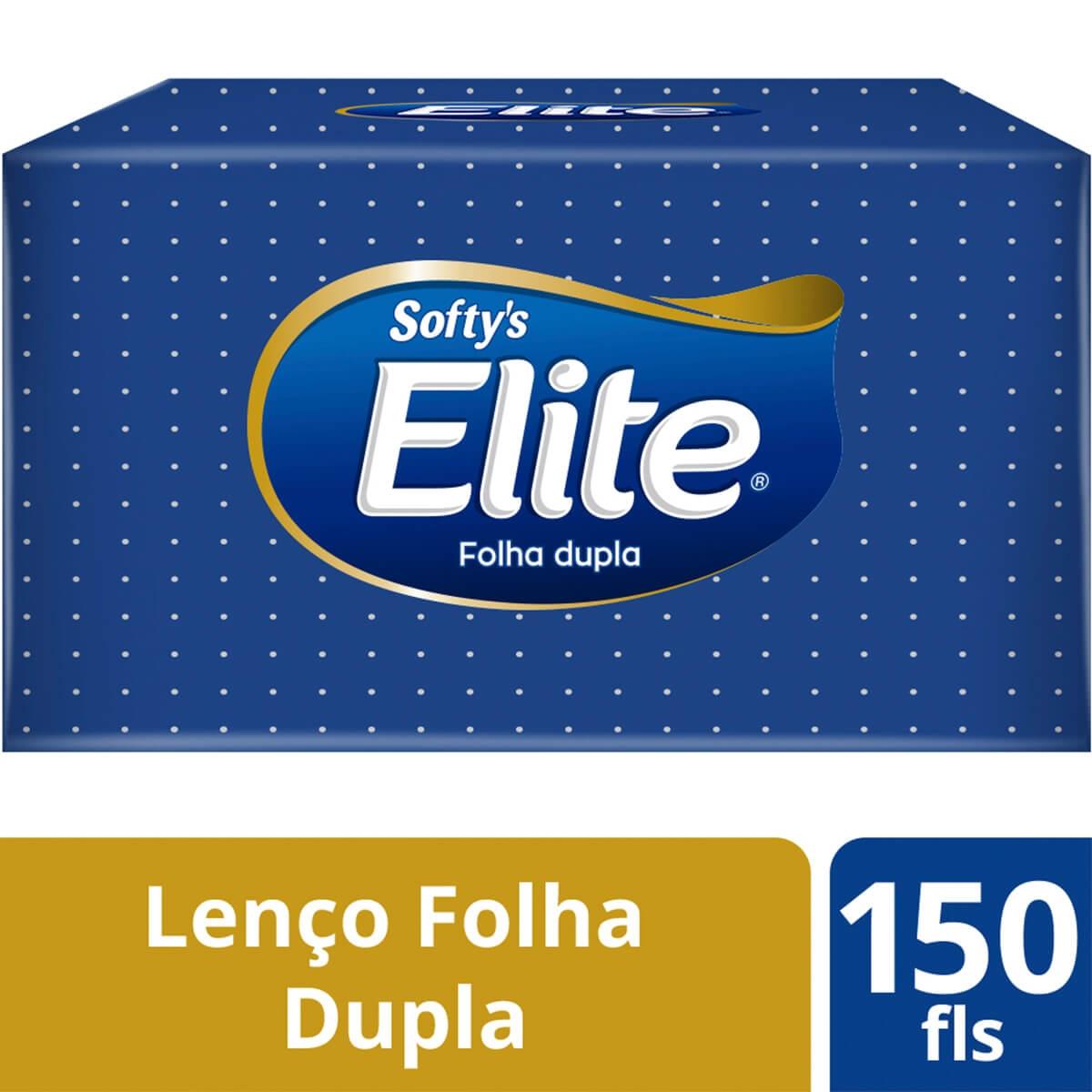 Lenços de Papel Softy's com 150 unidades 150 Folhas