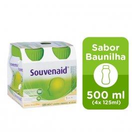 Suplemento Alimentar Souvenaid Danone Sabor Baunilha com 4 unidades de 125ml