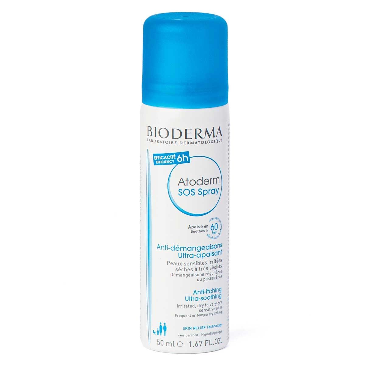 Spray Calmante Anticoceira Bioderma Atoderm SOS com 50ml 50ml