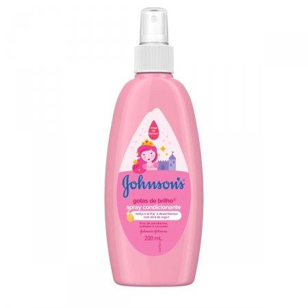Spray de Cabelos Infantil Johnson's Gotas de Brilho