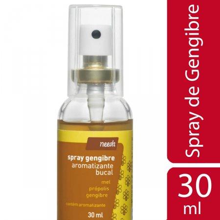 Spray para Garganta Aromatizante Needs Gengibre com Própolis