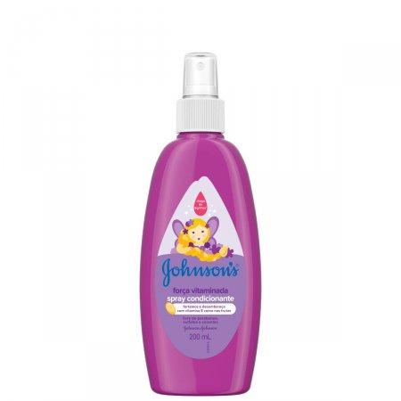Spray para Cabelo Johnson's Baby Força Vitaminada