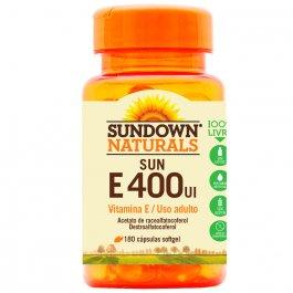 Vitamina Sundown Sun E 400UI com 30 Cápsulas