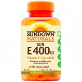 SUNDOWN VITAMINA E 400UI NATURAL 180 COMPRIMIDOS