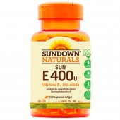 SUNDOWN VITAMINA E 400 UI 100 COMPRIMIDOS