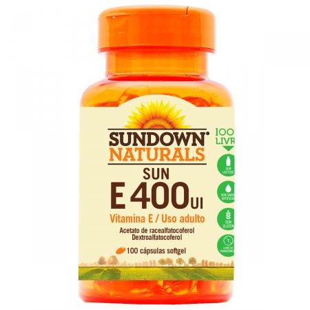 Vitamina Sundown Sun E