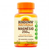 SUNDOWN OXIDO DE MAGNESIO 250MG 100 TABLETES