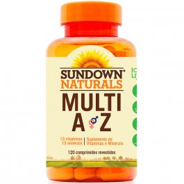 Multivitamínico Multi A-Z com 120 Comprimidos