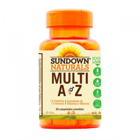 Multivitamínico Sundown Multi A-Z