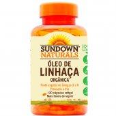 SUNDOWN OLEO DE LINHACA 1000MG 120 CASPSULAS