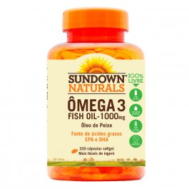 Ômega 3 Sundown Fish Oil 1000mg com 320 Cápsulas