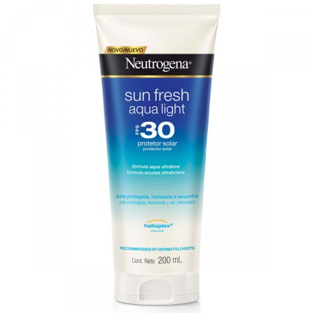 NEUTROGENA PROTETOR SOLAR SUN FRESH AQUA LIGHT FPS30 200ML