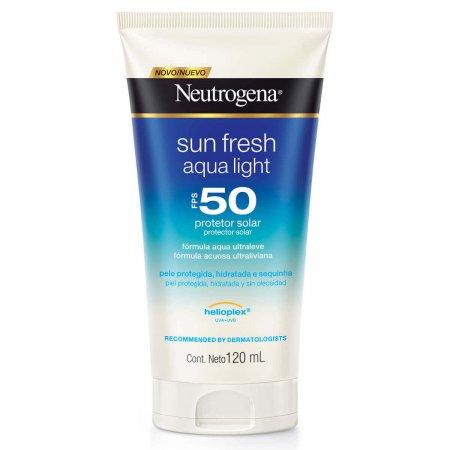 Protetor Solar Neutrogena Sunfresh Aqua Light FPS50