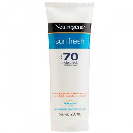 Protetor Solar Neutrogena Sun Fresh FPS70