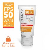 Protetor Solar Sunmax Sensitive FPS 50 Pocket Pele Sensível
