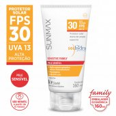Protetor Solar Sunmax Sensitive Family FPS 30