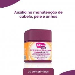 ADDERA + CABELO E UNHAS 30 COMPRIMIDOS REVESTIDOS