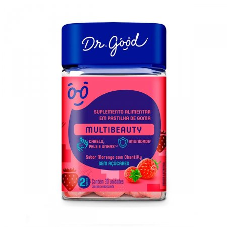 Suplemento Alimentar Dr. Good Multibeauty