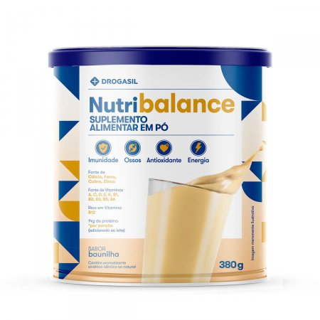 Suplemento Alimentar Drogasil Nutri Balance Sabor Baunilha