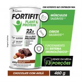 FORTIFIT PLANT PROTEIN CHOCOLATE COM AVELA 460G