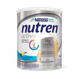 Suplemento Alimentar Nutren Active Nestlé Baunilha com 400g