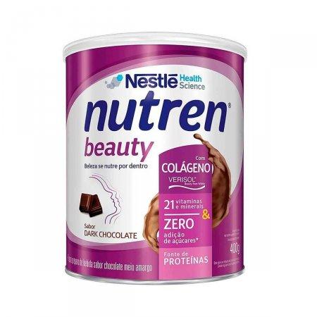 Suplemento Alimentar Nutren Beauty Dark Chocolate 400g Foto 1