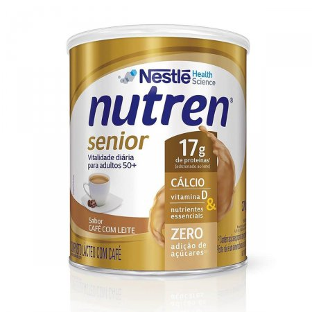 Complemento Alimentar Nutren Senior Café com Leite 370g Foto 1