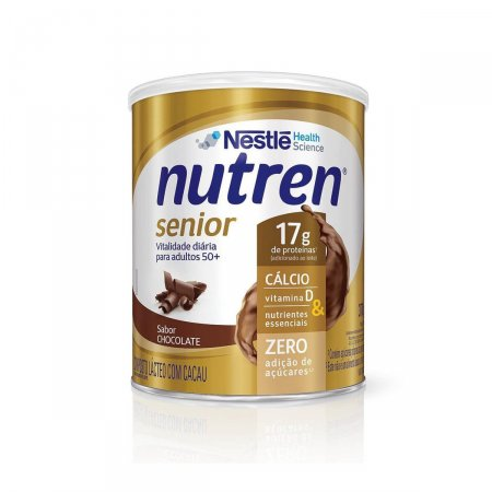 Complemento Alimentar Nutren Senior Chocolate 370g Foto 1