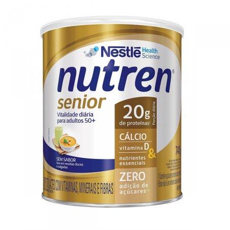 Complemento Alimentar Nutren Senior Sem Sabor 740g Foto 1
