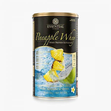 ESSENTIAL NUTRITION WHEY PINEAPPLE LATA 510G COM 15 DOSES