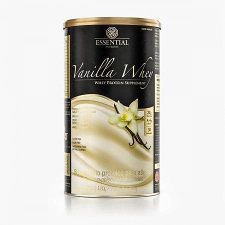 ESSENTIAL NUTRITION WHEY VANILLA LATA 900G COM 30 DOSES