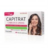 Suplemento Alimentar Capitrat Cabelos e Unhas com 60 cápsulas