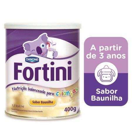 Suplemento Alimentar Fortini Sabor Baunilha