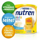 Complemento Alimentar Nutren Kids Baunilha com 350g