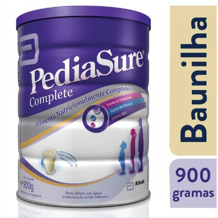 PEDIASURE LEITE INFANTIL BAUNILHA 900G