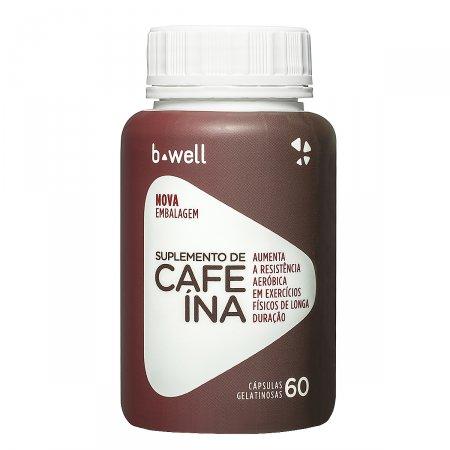 B-WELL CAFEINA 60 CAPSULAS