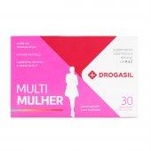 Suplemento de Vitaminas e Minerais Drogasil Multi Mulher