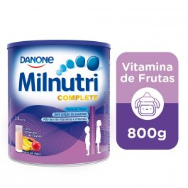 Suplemento Milnutri Complete Sabor Vitamina de Frutas 800g