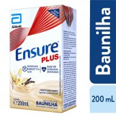ENSURE PLUS BAUNILHA TETRAPACK 200 ML
