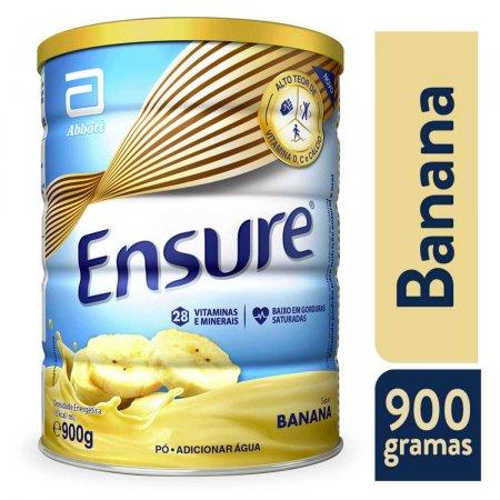 Suplemento Nutricional Ensure Sabor Banana com 900g