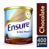 ENSURE SUPLEMENTO NUTRICIONAL EM PO DE CHOCOLATE COM 400G