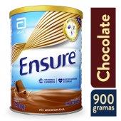 ENSURE SUPLEMENTO NUTRICIONAL EM PO DE CHOCOLATE COM 900 G